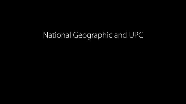 Live Augmented Reality for National Geographic Channel / UPC
