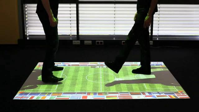 Surface Projections Soccer Demo