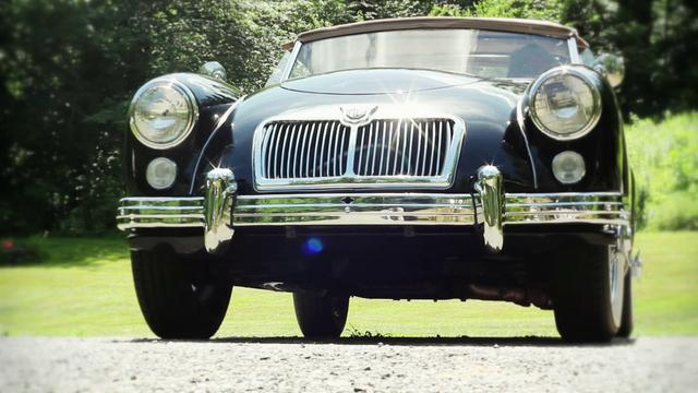 [Image: The 1960 MGA 1600]