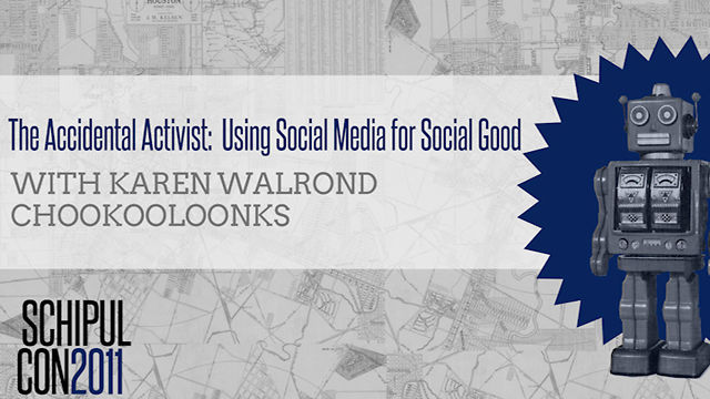 The Accidental Activist - Karen Walrond Chookooloonks