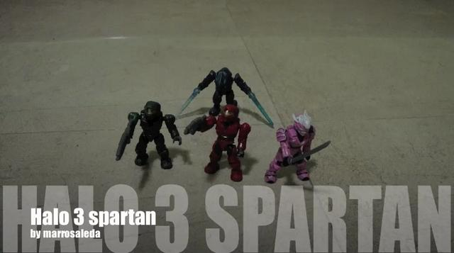 Mega Bloks Halo Operator Spartan