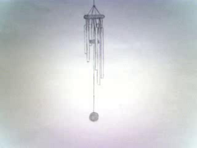 Wind Chime Blowing In The Hand Drawn Animation Pictures