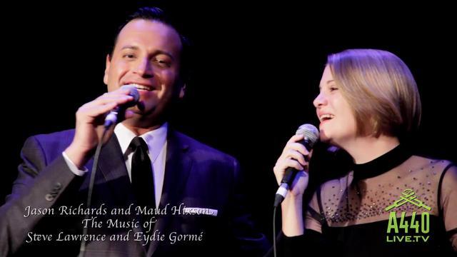 Jason Richards and Maud Hixson