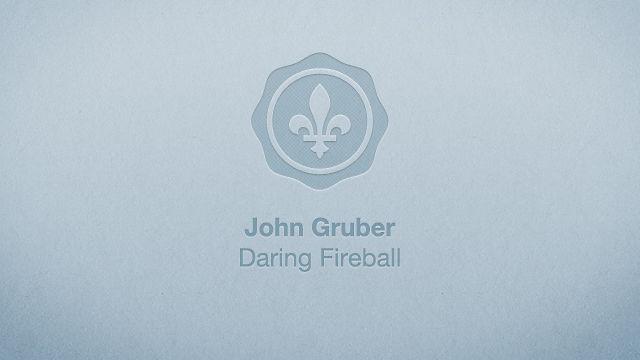 John Gruber - Çingleton 2011