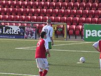 Cliftonville 3 Newington 0