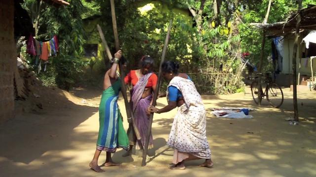 A traditional household practice among the Halakki people