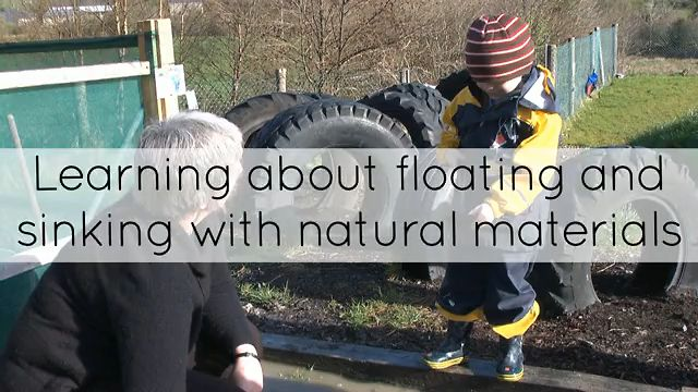 Learning About Floating And Sinking