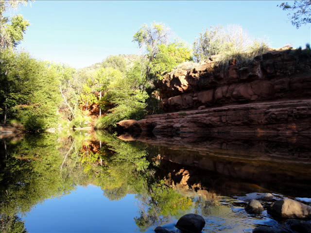 Wet Beaver Creek and Wilderness Arizona Camping Picture Tour