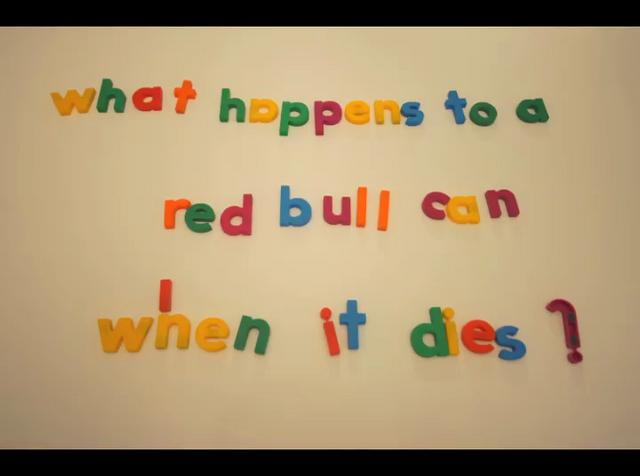 The Death of a Red Bull Can