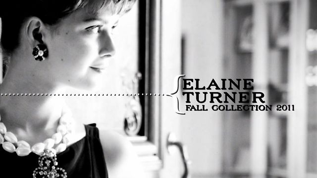 Elaine Turner Fall Collection 2011 - Breakfast at Tiffany's