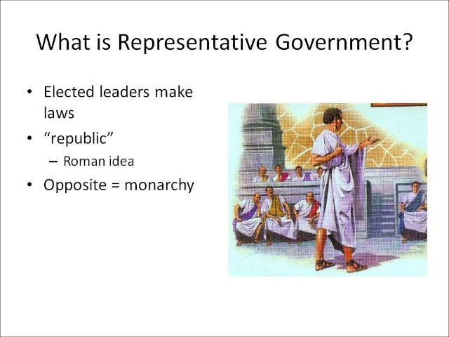 Representative Government in