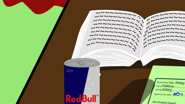 RedBull, a lettle shock to the system.