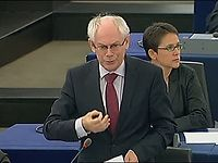 Debate on economic governance at the European Parliament