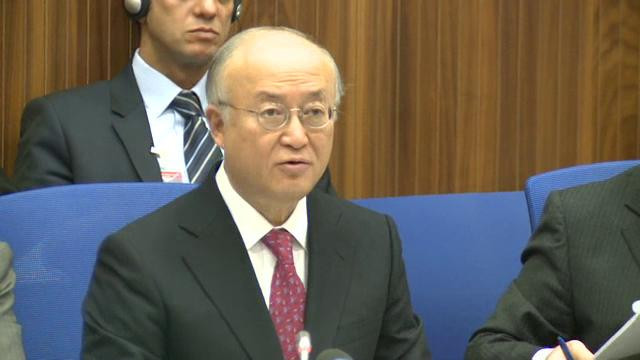Director General Amano Addresses the IAEA Board