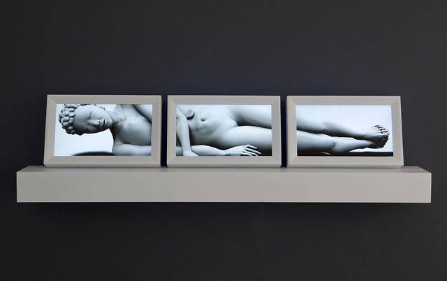 """Caress"" (2011) by Claudia Hart"
