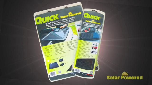 Solar Powered Battery Chargers