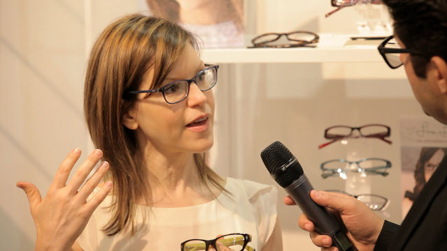 Lisa Loeb at Vision Expo West