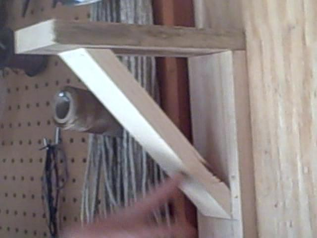 How to build shelf brackets on Vimeo