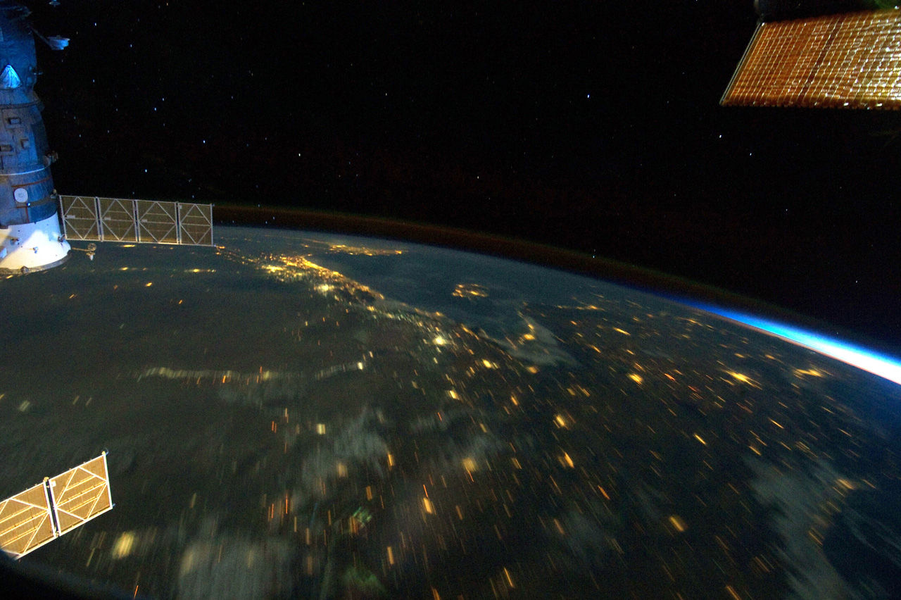 Time Lapse From Space - Literally. The Journey Home.
