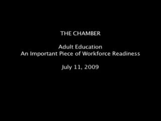 Adult Education - An Important Piece of Workforce Readiness