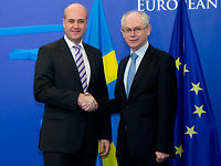 Meeting with the Swedish Prime Minister, Fredrik REINFELDT