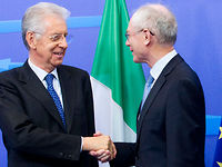 Meeting with Prime Minister of Italy, Mario MONTI