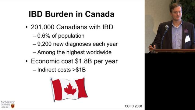 Inflammatory Bowel Disease - An Update by John K. Marshall, M.D., Division of Gastroenterology, McMaster University