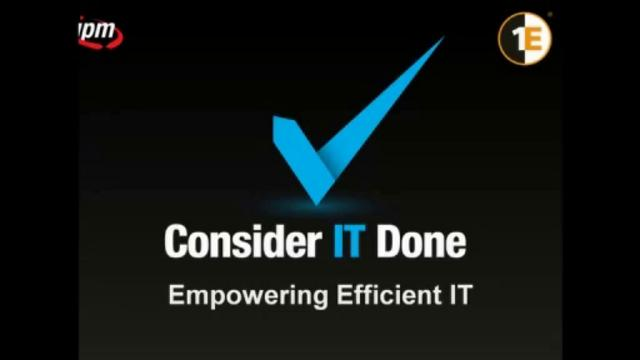 Empowering Efficient IT - Ambareesh Kulkarni