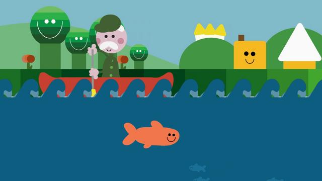 WWF  Lonely Salmon Animation