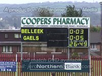 O'Rahilly's 0-13 Belleek 0-4 - Northern Bank Ulster Minor Tournament