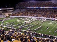 WVU Marching Band Pregame Pitt 11/25/11