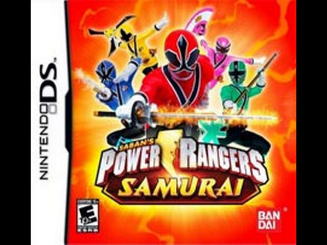 descargar power rangers samurai nds espanol