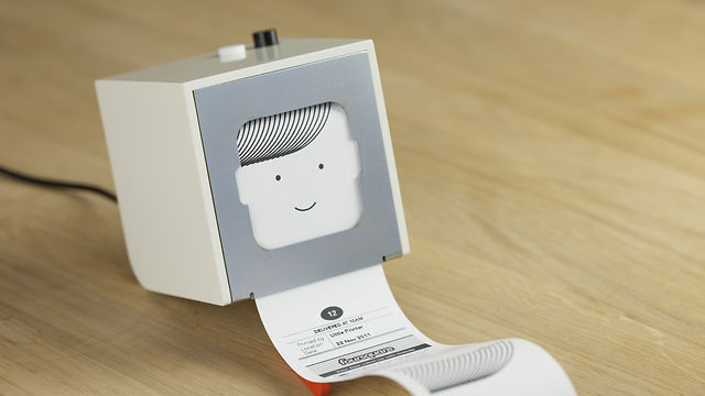 Thumbnail of video Hello Little Printer, available 2012