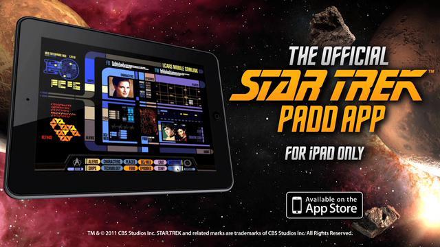 STAR TREK PADD app - promo video