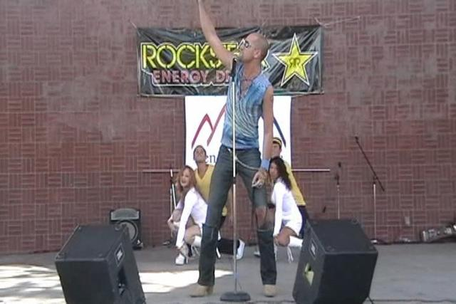 Clint Crisher LIVE at Reno Gay Pride 2009
