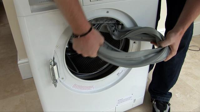 Замена уплотнительной резинки на стиральной машине индезит своими руками
