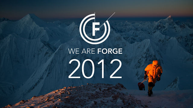 WE ARE FORGE - 2012 REEL