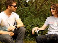 Interview with Celebrity Longboarder John Griffiths at the Insul Cup, Germany