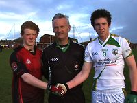 Goal! Glen beat Truagh in Northern Bank Ulster Minor Club Tournament - December 3
