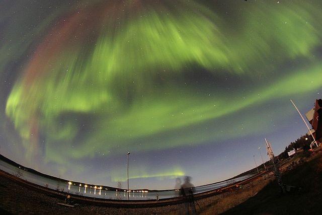 Aurora Borealis in Porjus