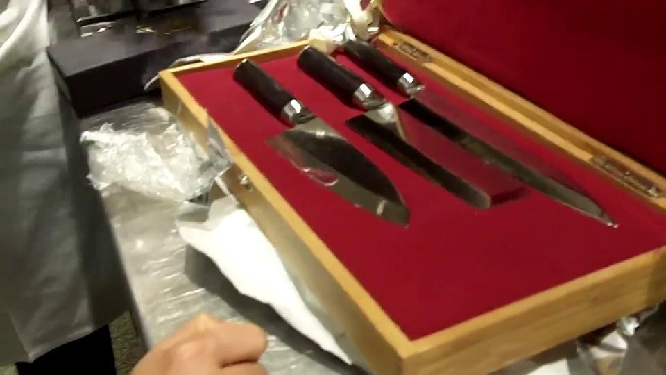 Shun vs Masahiro Knives