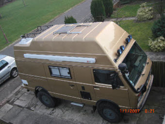 VW LT 40 4x4 Expedition camper NOW FOR SALE