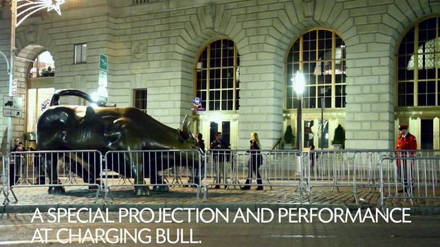 Occupy Cinema // Charging Bull // Tuesday, December 6