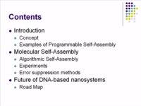 DNA-Based Nanosystems - Satoshi Murata, Tokyo Institute of Technology