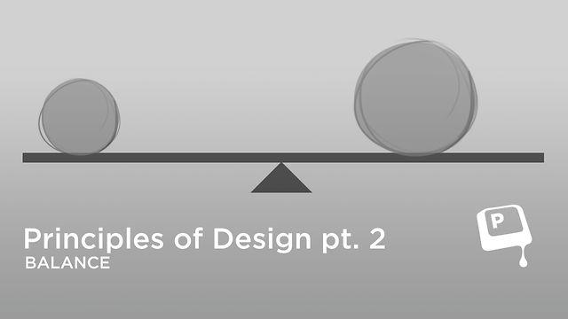 Principles Of Design Balance : Ctrlpaint principles of design balance on vimeo