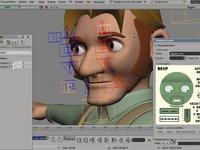 Mark Rig demo --- part 3 ( facial controls )