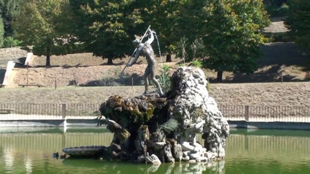 Toscane k florence palazzo pitti jardin de boboli on for Jardines boboli