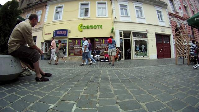 Cvartet pe strada Republicii, Brasov - Mozart