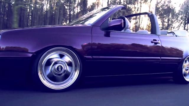 Brian Crook's VW Cabrio