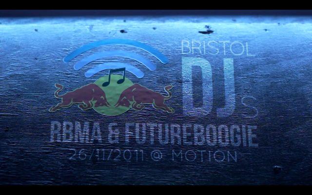 RBMA & FUTUREBOOGIE @ MOTION: BRISTOL DJs